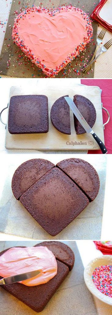 cake, diy, heart cake and party