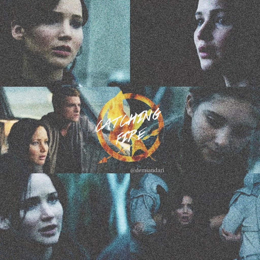 catching, catching fire, edit and everdeen