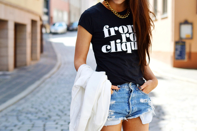 clothes, styling, teens, denim, fashion, preppy, fashionable, jean, outfit, street style, shorts, style, summer, t-shirt