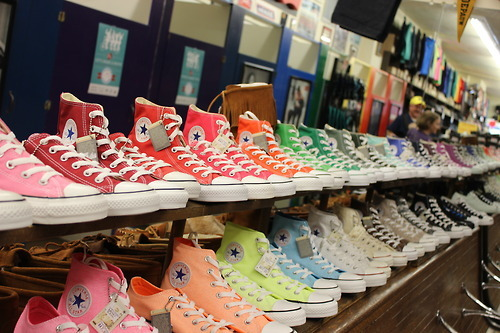 :-), all stars, blue and chuck taylor