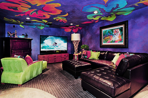 art awesome bedroom colorful cool cute decor design flowers
