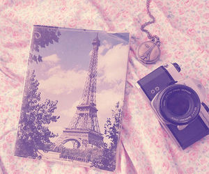 accessories, necklace, eiffel tower, flowers, love, photograph