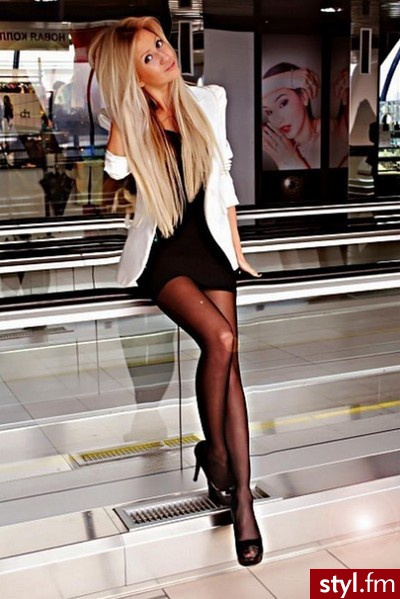 black, blonde, chic, classic, classy, dress, fashion, hair, hairstyle, heels, high-heels, hot, jacket, little, long, pumps, sexy, shiny, stilettos, style, stylish