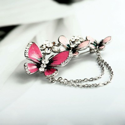 butterfly brooch pin, butterfly pins, chain butterfly brooch pin and enamel butterfly brooch pin