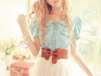beautiful, outfit, blond, love, lovely, blonde hair, blue, clothe, girl, girly thing, brown, white, cute, fashion, swag, clothes, fashionable, girly, hair, style, summeroutfit, hairs, long hair, summer
