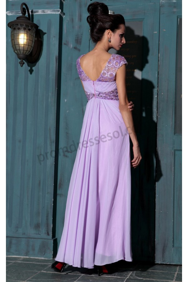 Lavender dress chiffon