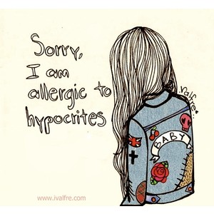 Girly thoughts image 904254 by awesomeguy on for Holier than thou tattoo