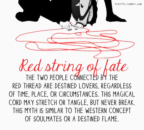 Red string of fate quote