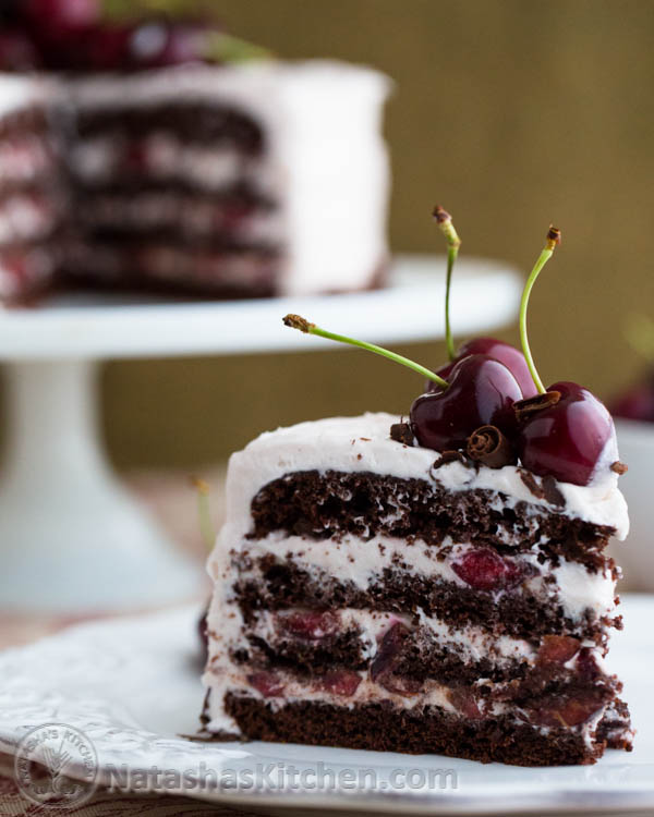 Drunken Cherry Chocolate Cake - image #907277 by awesomeguy on Favim ...