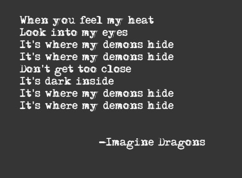 imagine dragons demons lyrics song - photo #13