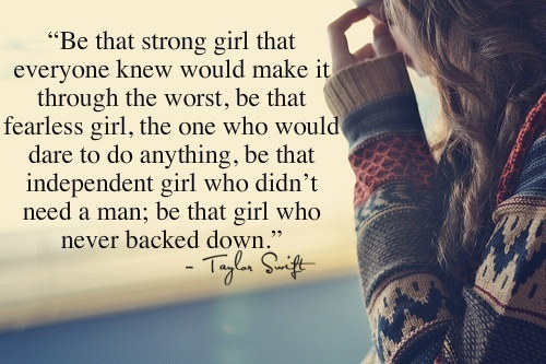 Fearless Taylor Swift Quote: 33 Beautiful Collection Of Girl Quotes