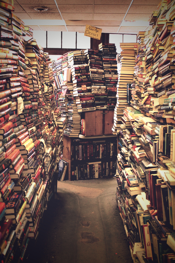book, book store, books and old