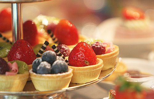 fruits and vegetables for healthy hair mini fruit tarts