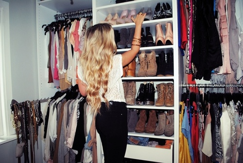blond, classy, closet, fashion, girl, shoes, summer