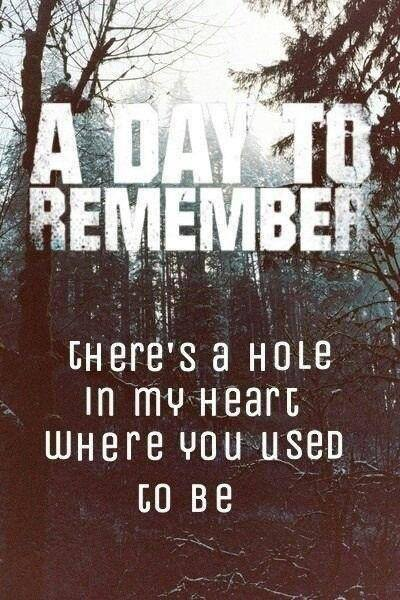 Quotes A Day To Remember. QuotesGram A Day To Remember Quotes