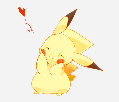 anime, kawaii, pikachu, pokemon, cute, games
