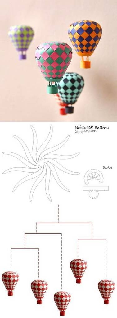 Diy mobile balloon diy projects usefuldiycom image for Diy balloon projects