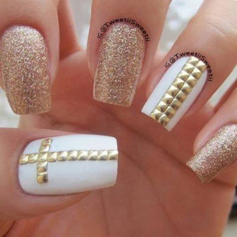 cute, nails, swag