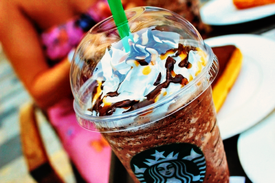 cool, food, drink, starbucks, girl, gorgeous, amazing, coffee, nice, starbucks coffee, Victoria's Secret, yummy