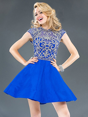 Images of Semi Formal Teenage Dresses - Reikian