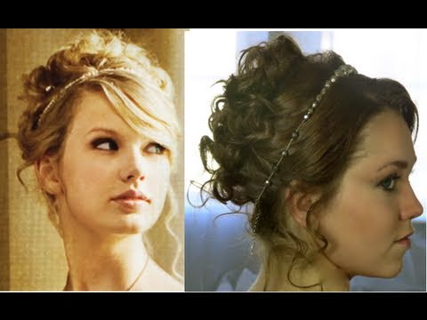 taylor swift love story updo diy fashion tips image