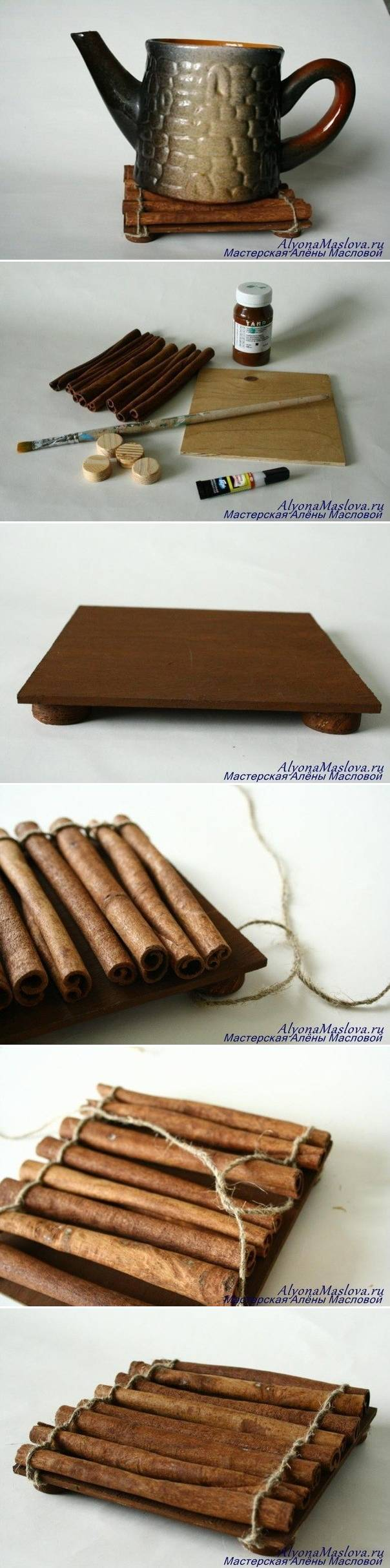 Cinnamon sticks for crafts - Diy Cinnamon Sticks Fragrant Stand Diy Projects Image 933047 By