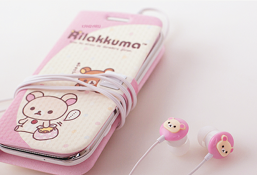 rilakkuma, asian, case, beautiful, cellphone, cute, japan, korean, kawaii