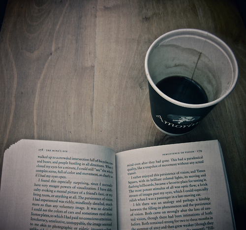 black coffee, book, books and cafe