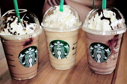 starbucks, starbucks coffee, yum, coffees