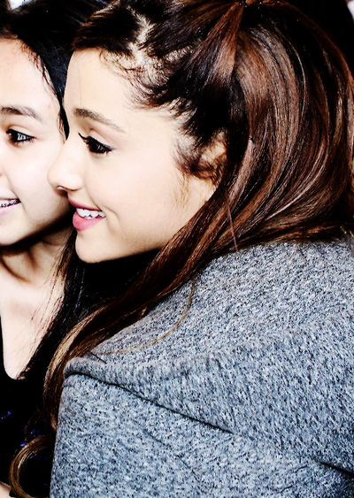 ariana grande the listening sessions meet and greet