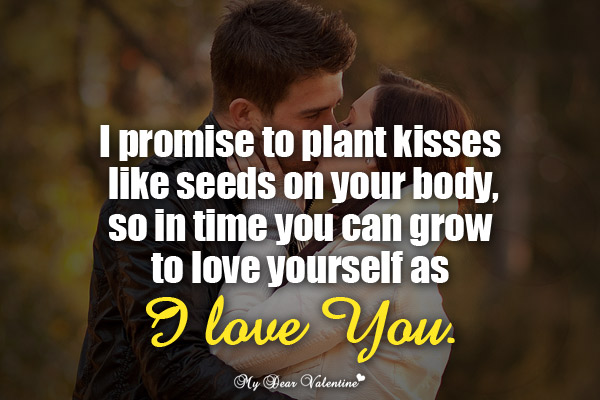 Kiss Love Quotes For Her : boyfriend quotes, cute, cute love quotes, heartfelt, love, love quotes ...