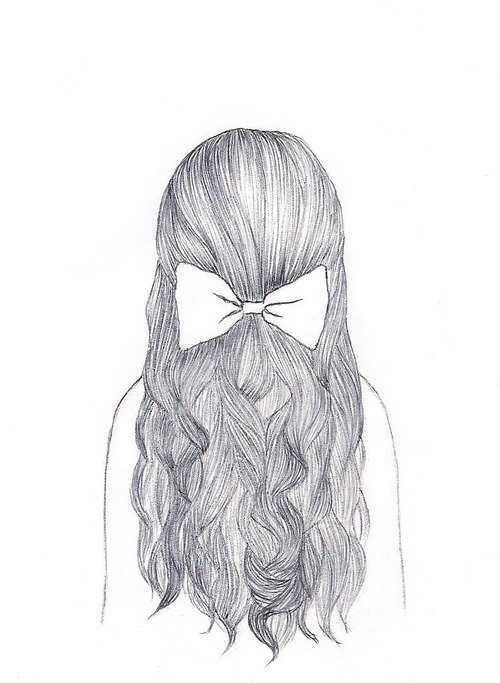 Hairstyles Drawing Easy : pretty drawn hairstyle via Tumblr - image #941904 by mollyroop on ...