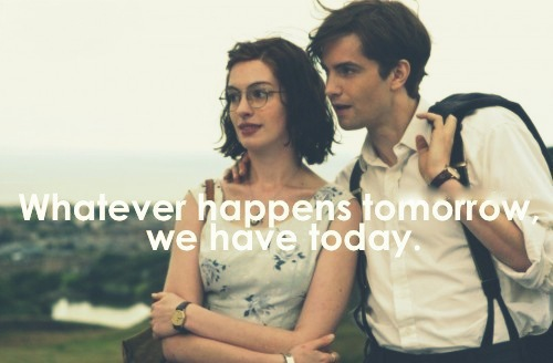 friendship, love, one day and today