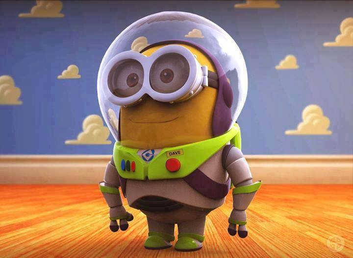 beautiful, buzz, cool, cute, love, minion, minions, photography, play, smile, toy story, tumblr