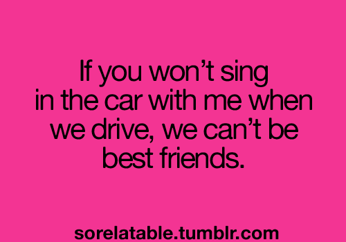 sing in the car via tumblr image 949844 by mollyroop