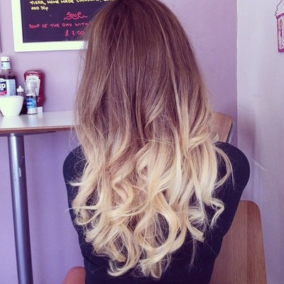 blonde, brunette, cosmetics and curly hair