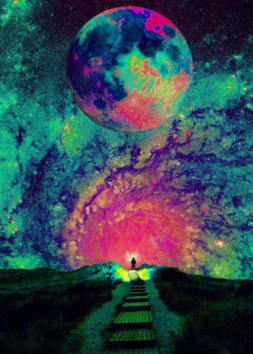 always, believe, colorful, Dream, forever, freedom, landscape, life, love, wish, immensity, stars, galaxy