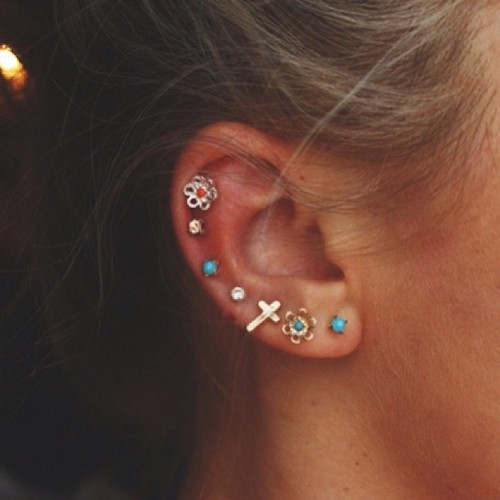 Cute Ear Piercing Ideas Tumblr | Car Interior Design
