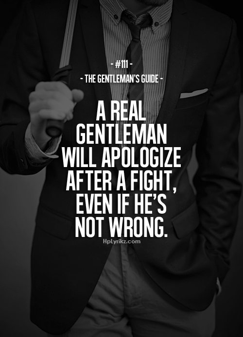 a real gentleman quotes - photo #16