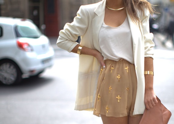 bag, classy, dress, fashion, gold, jewelry, outfit, rings, summer