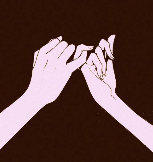 pinky promise | via Facebook - image #974522 by awesomeguy ...