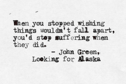 Best Looking For Alaska Quotes: Tumblr - Image #975405 By Korshun
