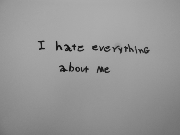 I Hate Everything About You Quotes: Black And White Quotes About Depression. QuotesGram