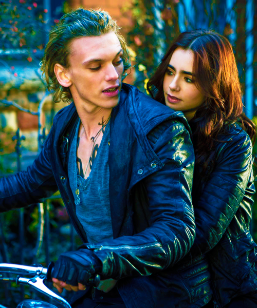 couple, Jamie Campbell Bower, jace wayland, cute, photography, Hot, lily collins, love, mortal instruments, movie, clary fray, the mortal instruments, city of bones, shadowhunters