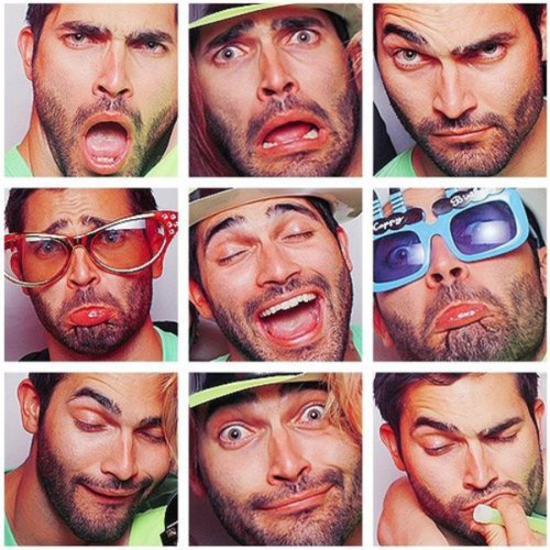 Brittany snow and tyler hoechlin photo booth