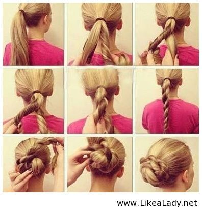 HD wallpapers easy step by step updos for medium hair