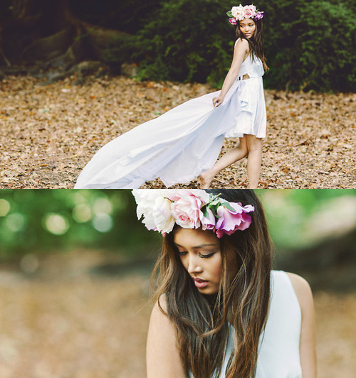 cute, dress, fashion, flowers, girl, good, hair, headband, heart, long, love, lovely, nice, pretty, smile, style, summer, sweet