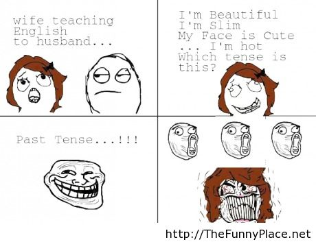 Wife Teaching English To Husband Funny Pictures Image