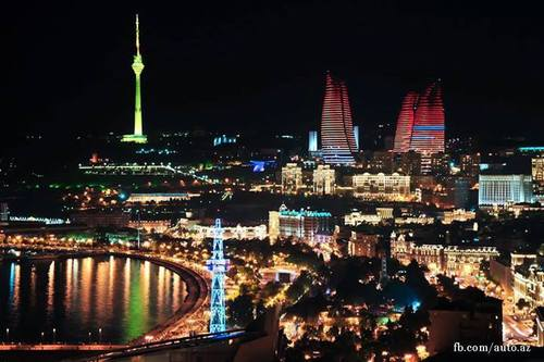 azerbaijan, baku, beautiful and city