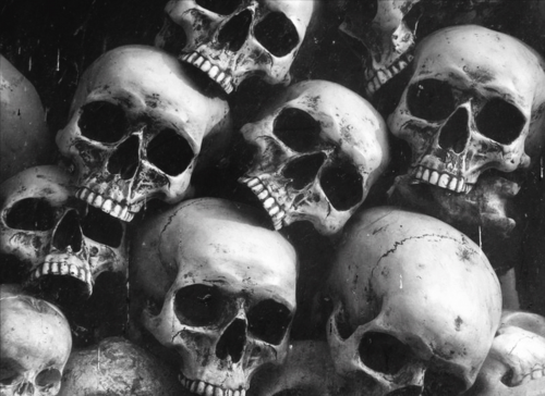 b&w, black & white, black and white, murder, skulls, death, skeletons